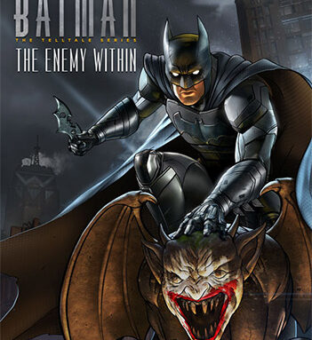 BATMAN: THE ENEMY WITHIN – THE TELLTALE SERIES – COMPLETE SEASON, EPISODES 1-5