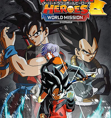 SUPER DRAGON BALL HEROES: WORLD MISSION + 3 DLCS + MULTIPLAYER