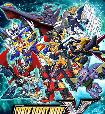 SUPER ROBOT WARS X + EARLY PURCHASE BONUS + REAL SINGING SONG PACK